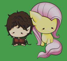 Frodo & Fluttershy One Piece - Short Sleeve