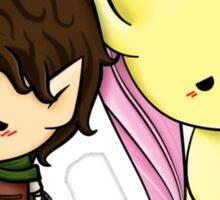 Frodo & Fluttershy Sticker