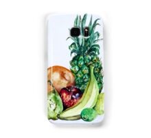 Fruit Still Life Watercolour Painting Samsung Galaxy Case/Skin