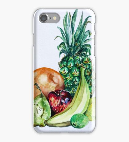 Fruit Still Life Watercolour Painting iPhone Case/Skin