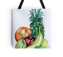 Fruit Still Life Watercolour Painting Tote Bag