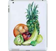 Fruit Still Life Watercolour Painting iPad Case/Skin