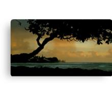 Tree Cover... Kauai Sensual Series Canvas Print