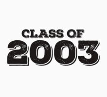 Class of 2003 Kids Clothes