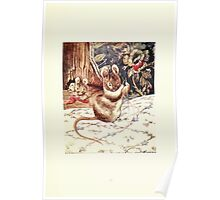 The Tailor of Gloucester Beatrix Potter 1903 0051 Mouse with Needle and Thread Poster