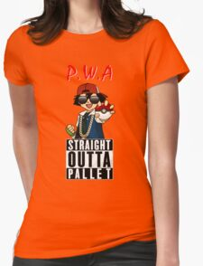 Straight Outta Pallet Womens Fitted T-Shirt