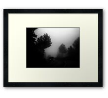 Out of the fog... Framed Print