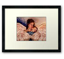 Angel Mother Framed Print