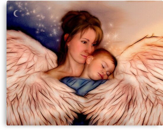 Angel Mother by Francine Dufour Jones
