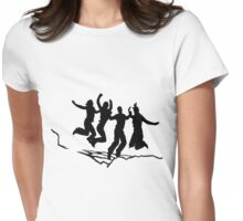 The Highest Jump Womens Fitted T-Shirt
