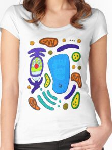 Plant cell of awesomeness Women's Fitted Scoop T-Shirt