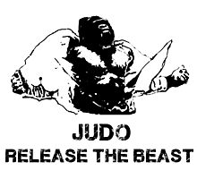 JUDO RELEASE THE BEAST Photographic Print