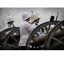 Manning the Guns Photographic Print