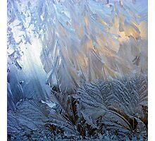 Iced Glass Photographic Print