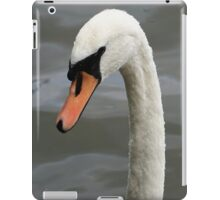 Swan in close up iPad Case/Skin