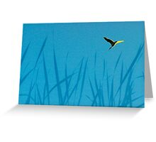 Ibis at dawn Greeting Card