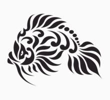 Totemic tattoo fish by Smaragdas