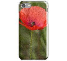 Poppy Oil Effect iPhone Case/Skin