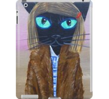 Anderson Tenenbaum black cat  iPad Case/Skin