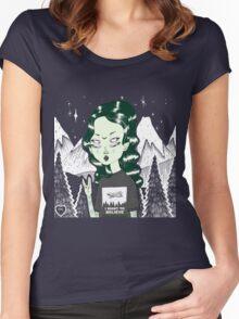 Zelina  Women's Fitted Scoop T-Shirt
