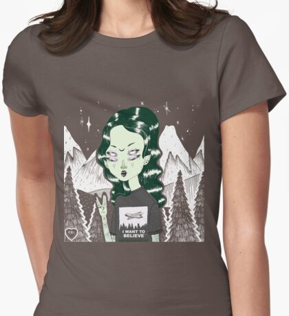 Zelina  Womens Fitted T-Shirt