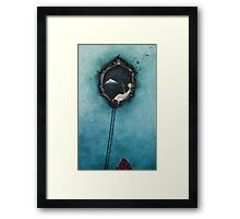 Love is the catch of the day Framed Print