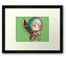 Riven Redeemed League of Legends (chibi) Framed Print
