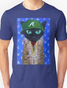 OutKast rapper hip hop Atlanta black cat T-Shirt