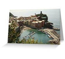 Vernazza View Greeting Card