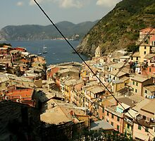 Vernazza View 2 by Camilla