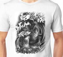 Giant Man Eating Turtle Unisex T-Shirt