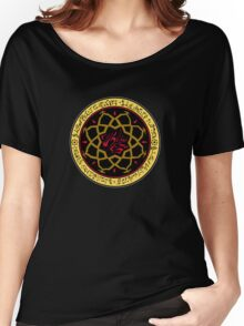 Dark Ages Clan Shield: Assamite Women's Relaxed Fit T-Shirt
