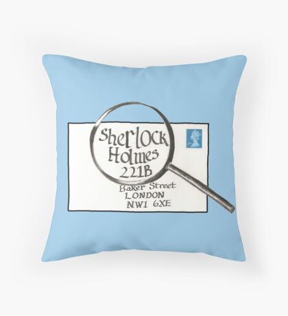 Sherlock Holmes' Letter Throw Pillow