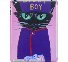 Anderson Lobby Boy black cat Pastry hotel Budapest iPad Case/Skin