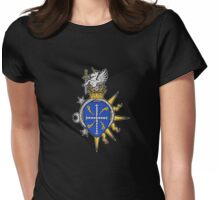 Dark Ages Clan Shield: Ravnos Womens Fitted T-Shirt