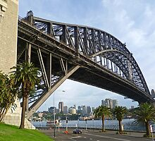 Dawes Point view of the Sydney Harbour Bridge by TonyCrehan