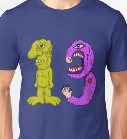 Freaky Thirteen Unisex T-Shirt