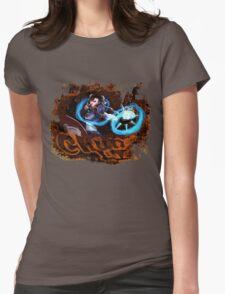 Chun Li Street Fighter Womens Fitted T-Shirt