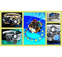 Designer Rings Photographic Print