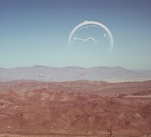York 3 over Anza Borrego by Joel Pedersen