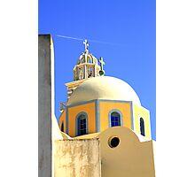 Fira Churches Photographic Print