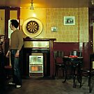 Basic English pub in the 1980's by David A. L. Davies