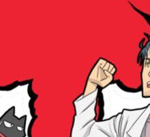 steins gate nichijou rintarou hakase okabe anime manga shirt Sticker