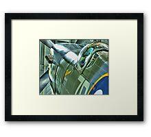 Spitfire  MH434 - OFMC`s Christmas Card 2011  Framed Print