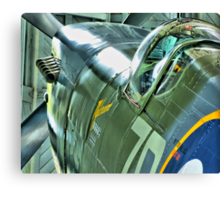 Spitfire  MH434 - OFMC`s Christmas Card 2011  Canvas Print