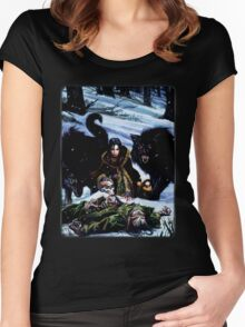 Cover: Werewolf: The Dark Ages Women's Fitted Scoop T-Shirt