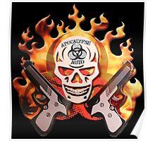 apocalypse auto skull Poster