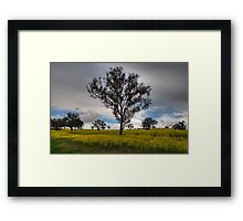 Glow - Outside Bathurst NNSW - The HDR Experience Framed Print