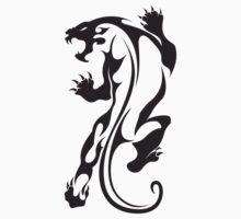 Totemic panther or jaguar by Smaragdas