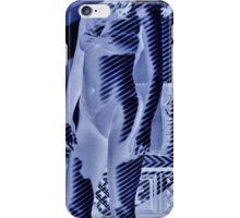 An unusually blue portrait iPhone Case/Skin
